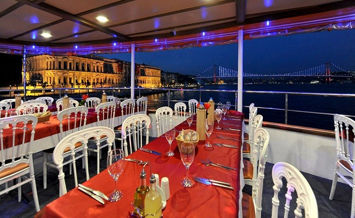 Istanbul Dinner Cruise with Turkish Night Show